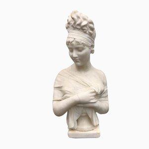 Madame Recamier, 1800s, Alabaster