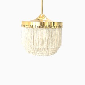 Fringed Pendant Light by Hans Agne Jakobsson for HAJ AB Markaryd, 1960s