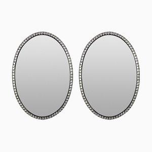Irish Georgian Style Mirrors, 1970s, Set of 2