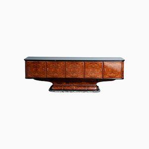 Mid-Century Italian Walnut Sideboard by Osvaldo Borsani