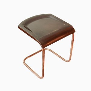 French Art Deco Bakelite Stool, 1930s