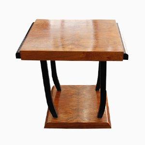 Tavolino con rotelle di Michel Dufet, Francia, anni '30