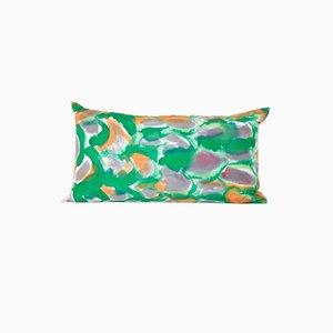Cuscino lombare verde di Naomi Clark per Fort Makers