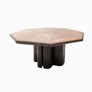 Table Basse Octogonale Vintage par Marcus Kingma, Pays-Bas