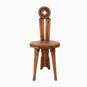 Chaise d'Appoint par Arno Zoetmulder, Pays-Bas, 1920s
