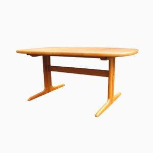 Danish Extendable Oval Teak Dining Table from Skovby, 1970s