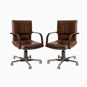 Swivel Chairs by Mario Bellini for Vitra, 1970, Set of 2