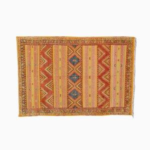 Moroccan Vintage Woolen Berber Carpet