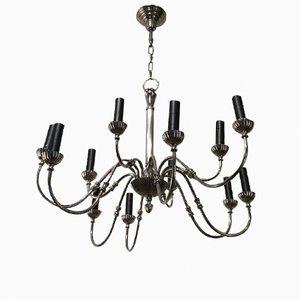 Lámpara de araña de metal con 12 brazos