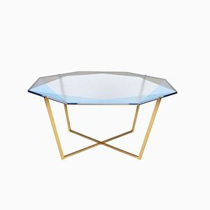 Octagonal Gem Coffee Table by Debra Folz Design