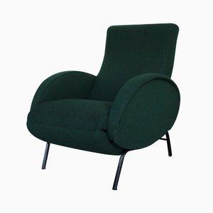 Butaca reclinable italiana de Nino Zoncada, años 50