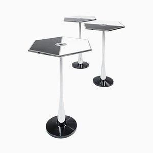 Mesa baja Perspectiva Table en blanco y negro de Fedele Papagni para Fragile Edizione