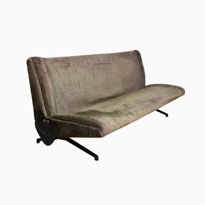 1st Edition D70 Sofa Daybed by Osvaldo Borsani for Tecno