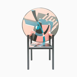 Zabro Table-Chair by Alessandro Mendini for Zanotta, 1984