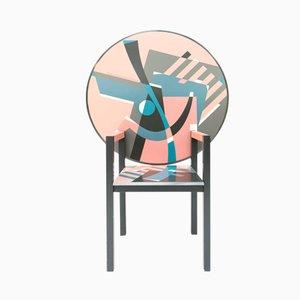Zabro Tisch-Stuhl von Alessandro Mendini für Zanotta, 1984