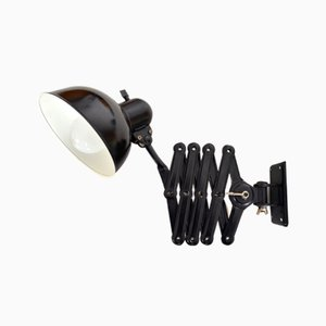 Lampada Bauhaus 6718 vintage a forbice di Christian Dell per Kaiser Idell
