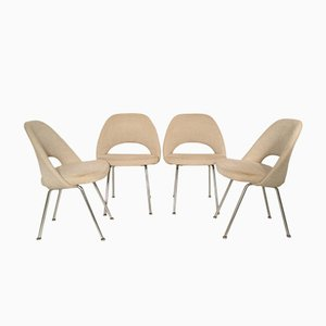 Conference Chairs by Eero Saarinen for Knoll International, 1970s, Set of 4