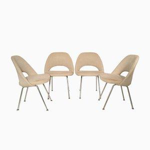 Konferenzstühle von Eero Saarinen für Knoll International, 1970er, 4er Set