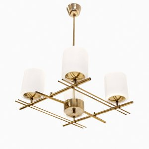 Mid-Century Scandinavian Ceiling Light from Itsu, 1960s