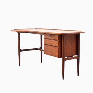 Teak Bumerang Schreibtisch, 1960er
