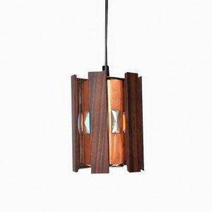 Lámpara colgante vintage de Werner Schou