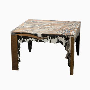 Square Sediment Table by Rive Roshan