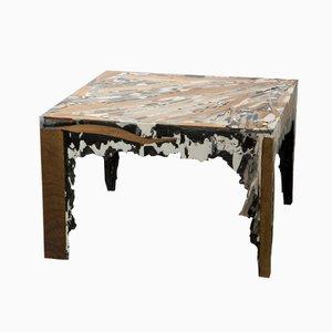 Tavolo Sediment quadrato di Rive Roshan