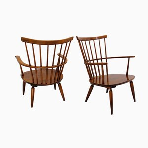 Model Altheim Armchairs by Franz Schuster for Wiesner-Hager, 1950s, Set of 2