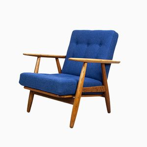 Danish GE-240 Cigar Chair by Hans Wegner for Getama