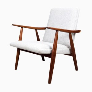 GE-260 Lounge Chair by Hans J. Wegner for Getama, 1950s