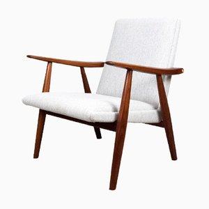 GE-260 Lounge Stuhl von Hans J. Wegner für Getama, 1950er