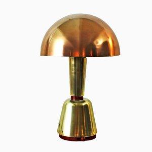 Lámpara de escritorio italiana Art Déco de Magilux, años 30