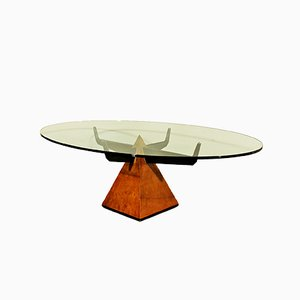Pyramidal Italian Coffee Table, 1950s