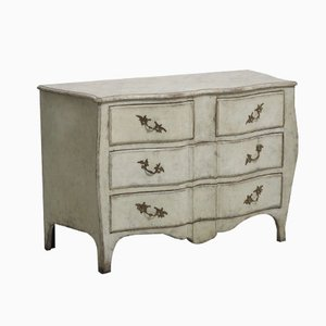 Antique Swedish Rococo Style Chest of Drawers