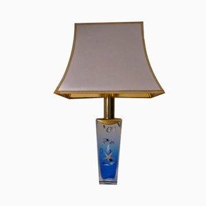 Lámpara de mesa Aquarium italiana vintage