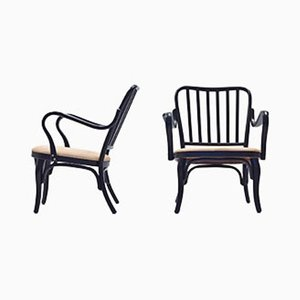Modell A 752 Stühle von Josef Frank für Thonet, 1960er, 2er Set