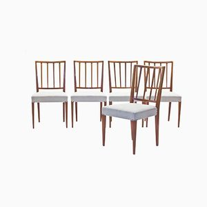 Chairs Model 815 by Josef Frank for Svenskt Tenn, Set of 5