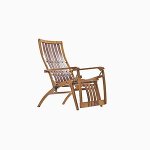 German Siesta Medizinal Folding Chair by Hans & Wassili Luckhardt for Thonet, 1936