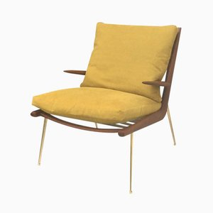 Boomerang Chair by Peter Hvidt & Orla Mølgaard-Nielsen for France & Søn, 1950s