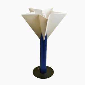 Star Shaped Table Lamp by Salvatore Gregorietti for Status Milano, 1980s