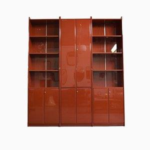Italienischer Olinto Bücherschrank von Kazuhide Takahama für B & B Como Novedrate, 1965