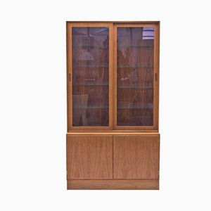 Danish Teak Vitrine by Poul Hundevad for Hundevad & Co., 1960s