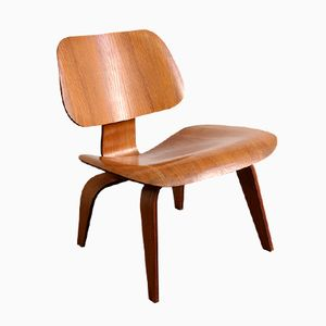 American First Edition LCW Lounge Chair by Charles & Ray Eames for Evans, 1946
