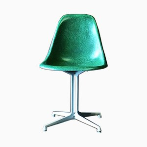 Vintage Green La Fonda Side Chair by Charles & Ray Eames for Vitra, 1960s