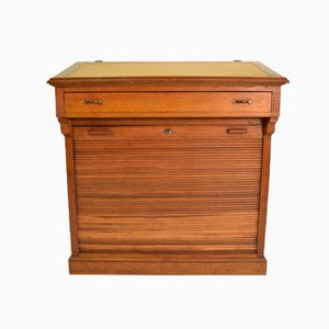 Italian Writing Desk with Compartment from Rovere, 1940s