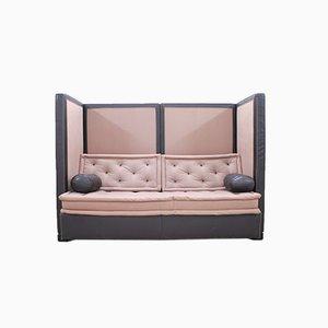 Edition 3000 Tagesbett aus Leder von Jean-Pierre Dovat für De Sede, 1987