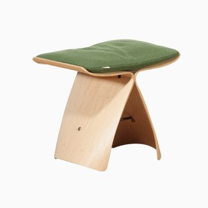 Maple Butterfly Stool by Sori Yanagi for Tendo Mokko Japan, 1980s