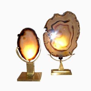 Lámparas de mesa vintage de Willy Daro. Juego de 2