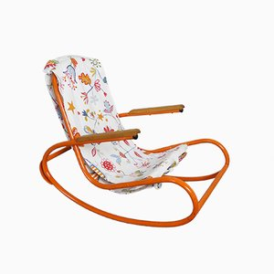 German Mid-Century Children's Rocking Chair