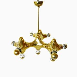 Lampe à Suspension Vintage en Forme de Molécule de Gebrüder Cosack